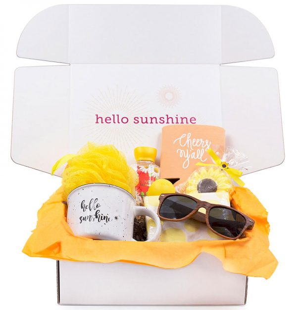 Hello Sunshine Mug Gift Box - Ship Sunshine