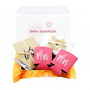 Mrs. and Mrs. Gift Box