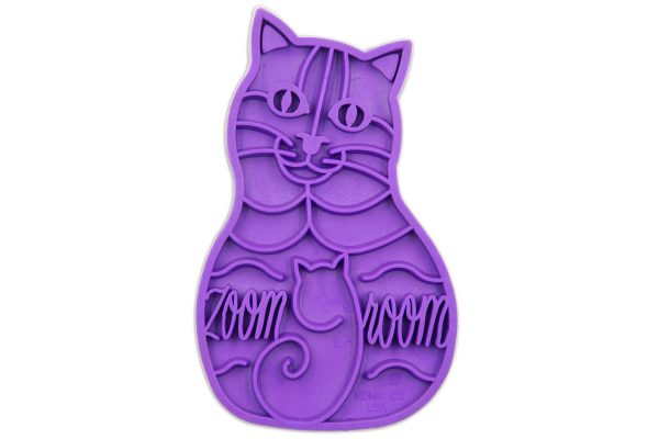 Cat Grooming Brush Purple