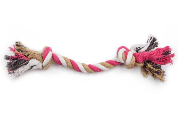 Dog Rope Toy Pink