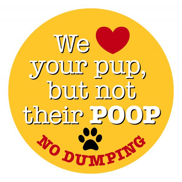 We Love Your Pup But Not Their Poop