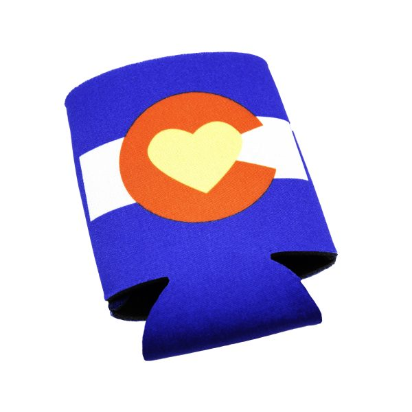 Love Colorado Koozie