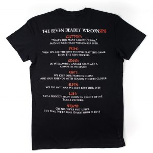 The Seven Deadly WisconSINS T-shirt