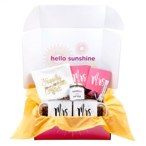 Mrs. & Mrs. Wedding Gift Box