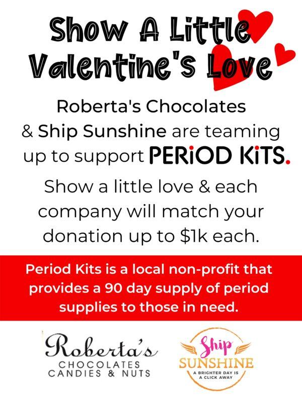 Show A Little Love Period Kits