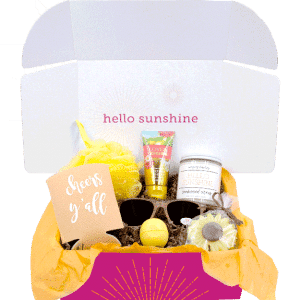 Signature Sunshine box - candle