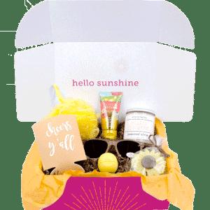 Signature Sunshine box - candle