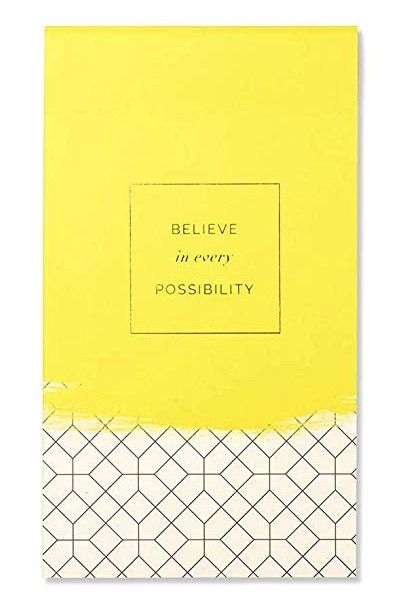 Believe in Every Possibility Notepad
