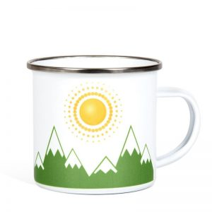 Mountains and Sunshine Mug