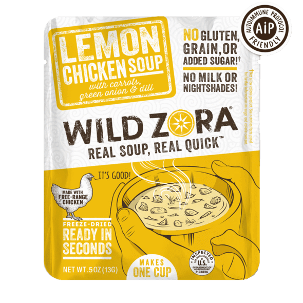 Lemon Chicken Soup Mix - GF - Ship Sunshine