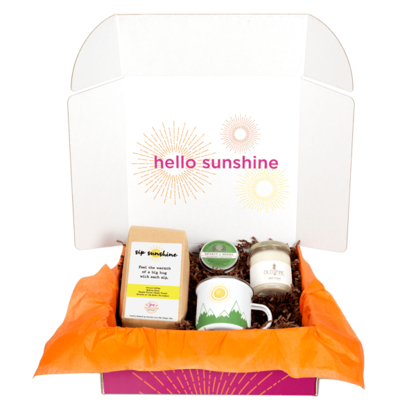 Coffee and Cannabis Gift Box