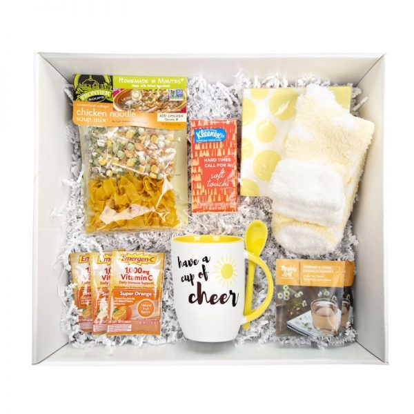 Inside the Get Well Soon Box