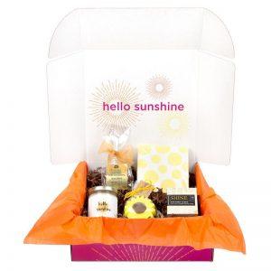 Sunshine and Chocolate Box
