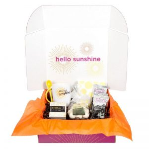 Sunshine in the Winter Box