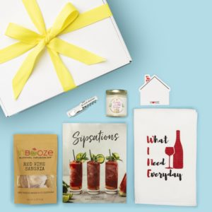 Home is Where the Wine Is Housewarming Gift Box