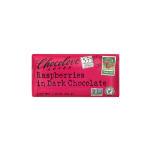 Chocolove Raspberry Dark Chocolate Bar
