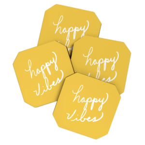 Happy Vibes Coasters
