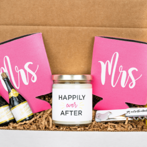 Mrs and Mrs Engagement Gift Box