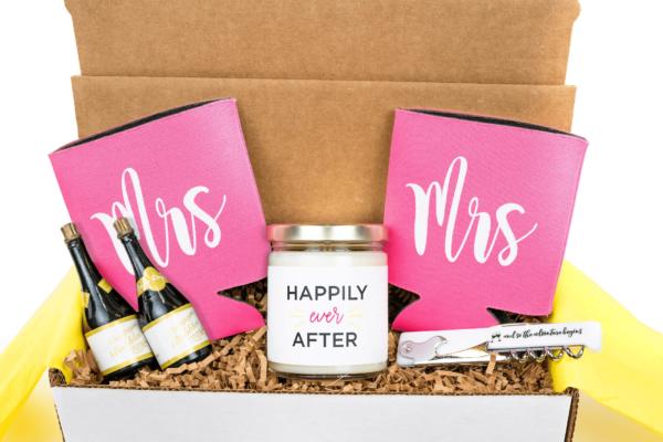 Mrs and Mrs Engagement Gift Box
