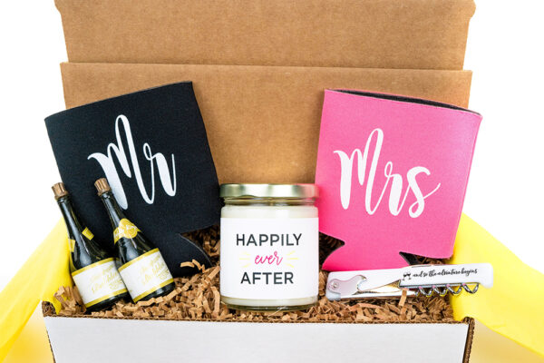Mr and Mrs Engagement Gift Box