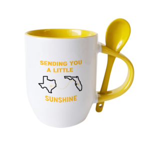 Sending a Little Sunshine Mug